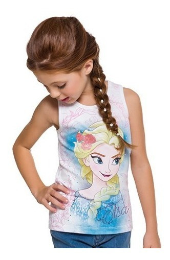Regata Infantil Menina Brandili Frozen.