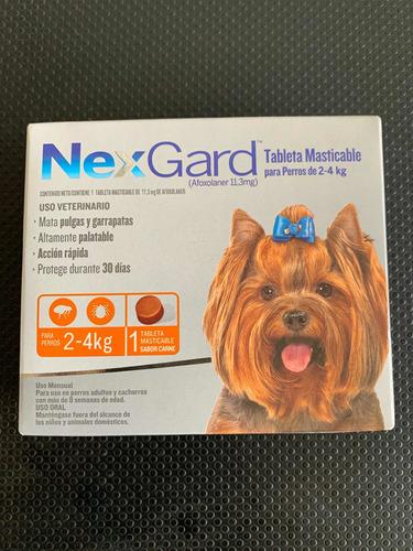 Nexgard Para El Control De Pulgas Y Garrapatas De 2-4 Kg