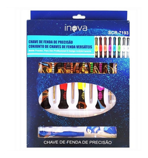Conjuntos De Chaves Kit Com 16 Peças Para Abrir Celulares.