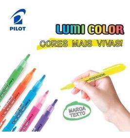 Caneta Pilot Lumicolor 200sl 4 Cores