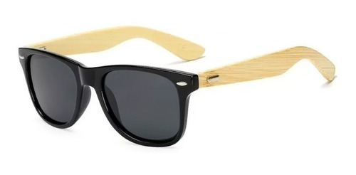Lentes Gafas De Sol Madera Bambú Bamboo Polarizados Conducir
