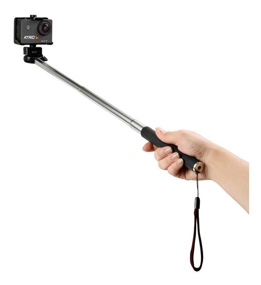 Bastão Pau De Selfie Para Actioncam Es080 Preto Átrio