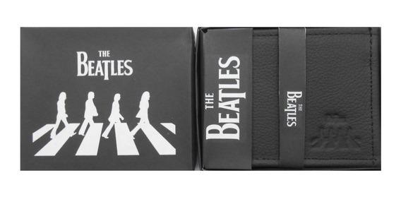 Cartera Piel Rock The Beatles