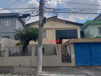 Casa Com 2 Dormitórios À Venda, 150 M² Por R$ 330.000 - Parque Novo Oratório - Santo André/sp - Ca0478