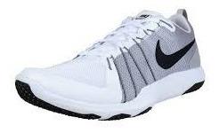 Tênis Nike Flex Train Aver Branco Masc Para Treino Original