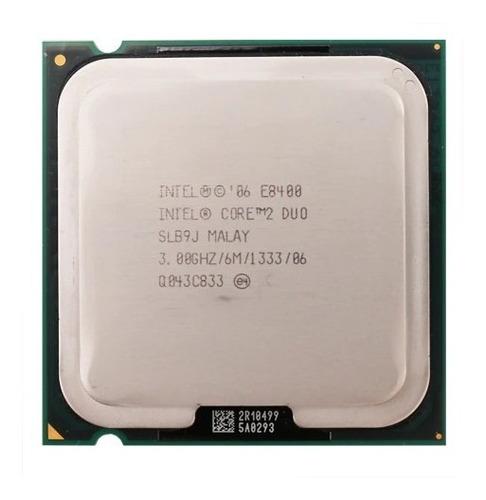 Imagem 1 de 1 de Processador Intel Core 2 Duo E8400 Lga 775 Desktop