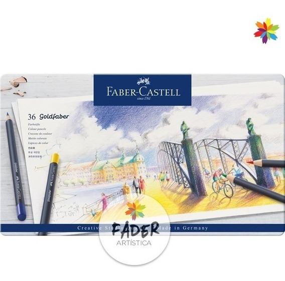Faber Castell Lapices Goldfaber Box X 36 Barrio Norte