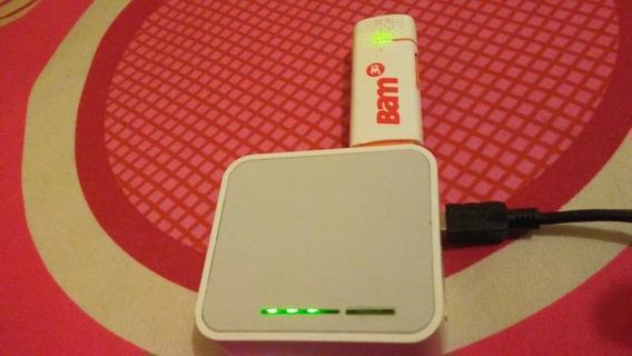 Bam Digitel + Router Tp Link Wifi Para Su Casa Oficin Punt