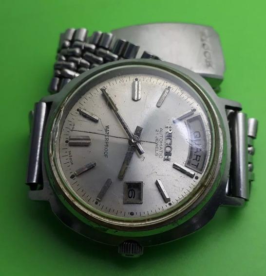 Relógio Ricoh Automático Modelo Presidente