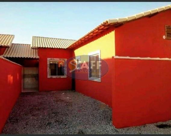 Casas 1 Quarto Para Venda Em Cabo Frio / Rj No Bairro Unamar - Ca1184 - 67806300