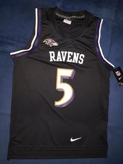 san francisco e3481 5a6ae Camisa Baltimore Ravens Joe Flacco no Mercado Livre Brasil