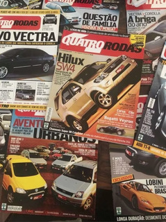 Lote 37 Edições Revista 4 Quatro Rodas 02/03/05 Frete Grátis