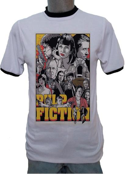Playera Ringer Pulp Fiction Poster A Quentin Tarantino Film
