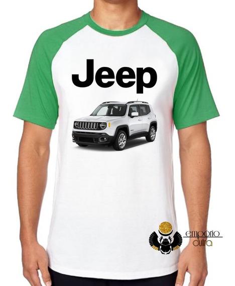 Camiseta Luxo Jeep Renegade Melhor Carro Off Road Brasil