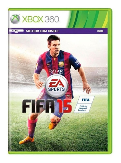 Fifa 15 - Xbox 360 - Usado - Original