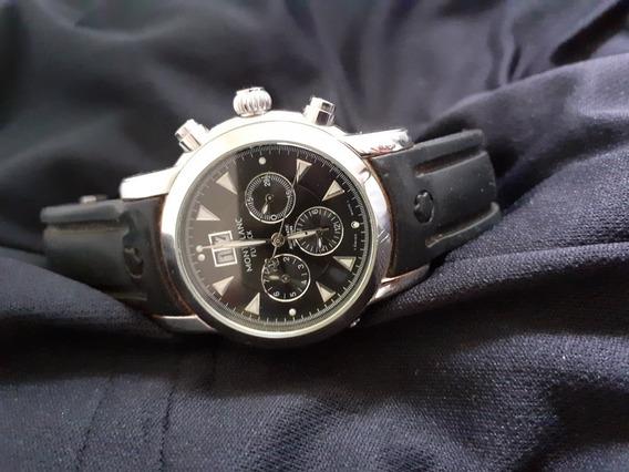 Relógios Montblanc Chronograph E Flyblack
