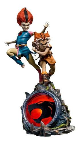 Estátua Wilykit & Wilykat Thundercats Bds 1/10 Iron Studios