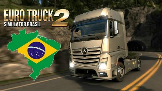 Euro Truck 2 Mapa Brasileiro Patch