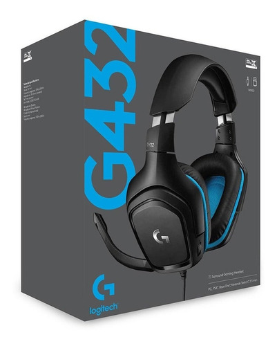 Auriculares Gamer Logitech G Series G432 7.1 Pc Ps4 Xbox