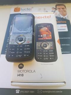 Aparelho Motorola Rádio Nextel I418 Novo - Com Nota Fiscal