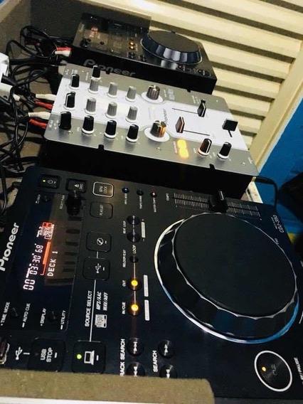 Cdj 350 Mixer Pioneer Case Semi Novos!