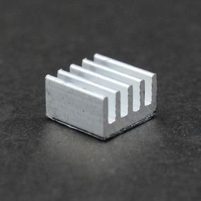 10 Dissipadores Alumínio Chipset A4988 08mm X 08mm X 05mm