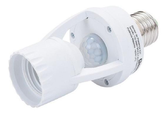 Kit 2 Sensor Presença C/ Fotocélula P/ Lâmpada Soquete E27