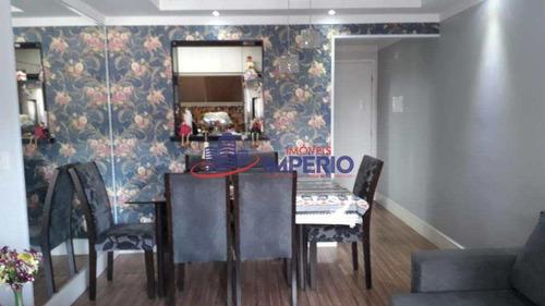 Apartamento Com 3 Dorms, Macedo, Guarulhos - R$ 382 Mil, Cod: 6779 - V6779
