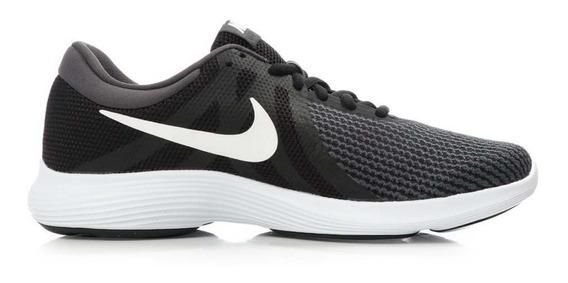 Tenis Nike Revolution Negro/gris Originales - 908999 001