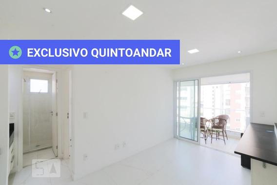 Apartamento No 12º Andar Com 1 Dormitório E 1 Garagem - Id: 892961516 - 261516