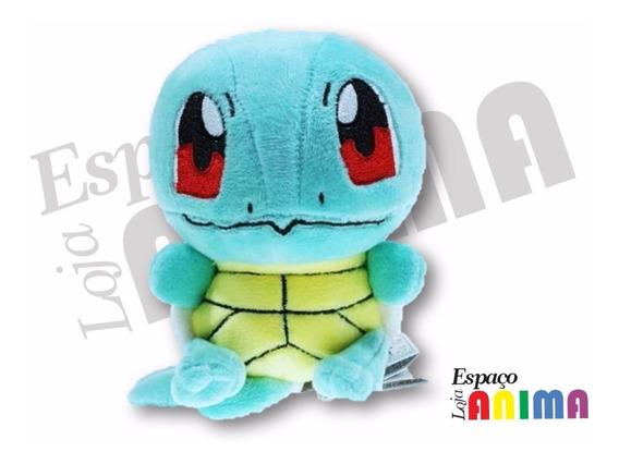 Pelúcia Squirtle Pokémon 15cm Pronta Entrega
