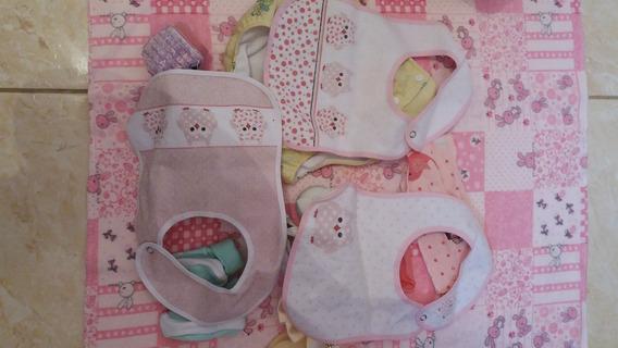 Lote Para Bebê 18 Itens Cobertor Sapatinhos Etc S20