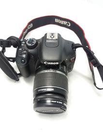 Camera Canon T2i Com Lente 18-55mm Usada