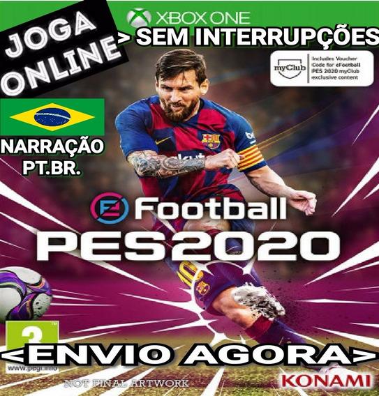 Pes 2020 Pes20 Xbox One Online Digital Original Narração Br