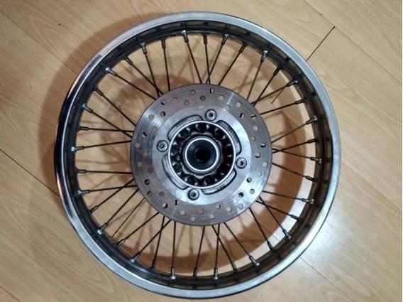 Roda Traseira Completa C/ Cubo E Disco Nxr Bros 150 160