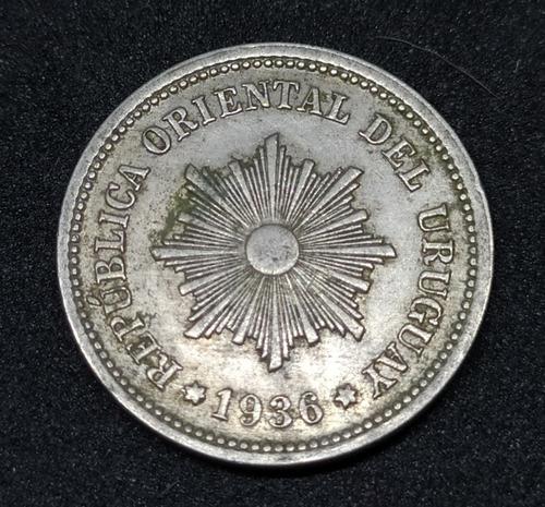 Uruguay - Moneda De 2 Centésimos - Año 1936