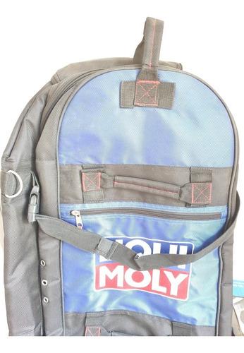 Imagen 1 de 10 de Mochila Maleta Viaje Liqui Moly Nueva Racing
