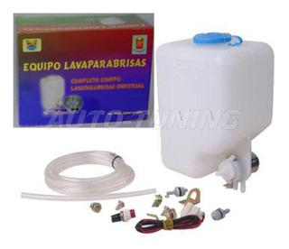 Kit Lavaparabrisas Completo Universal Listo Para Colocar