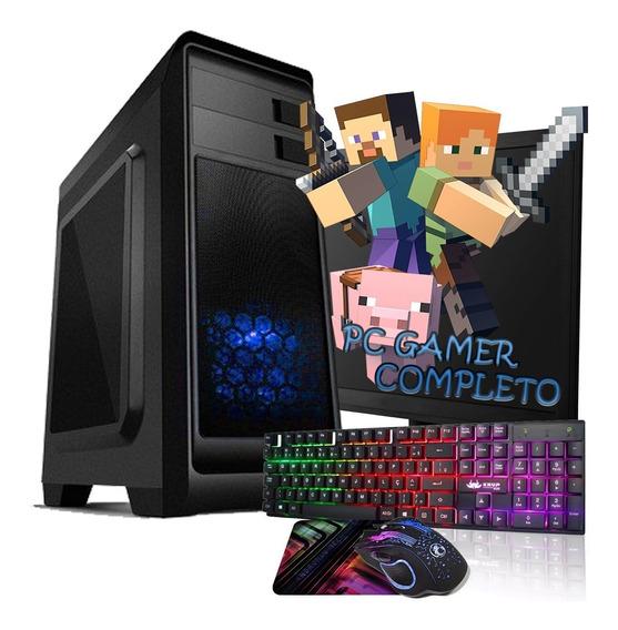 Pc Gamer Intel Core I3 Completo Barato - 4gb / Gtx 1050 /dvd