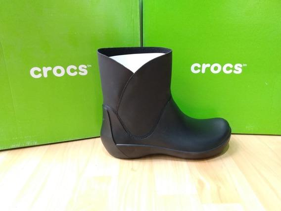 eleganckie buty najlepsze podejście szczegóły Botas Crocs Berryessa Cafes W8 - Calzado en Mercado Libre ...