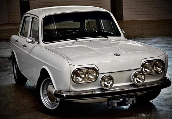 Vw 1600 - 1969 - Placa Preta