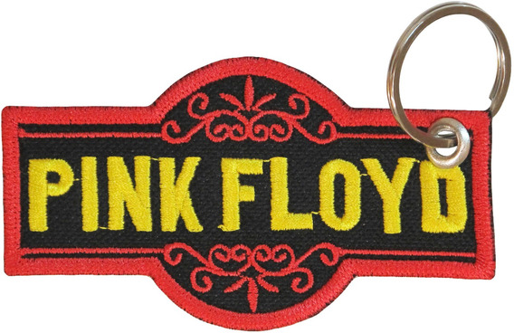 Chaveiro Patch Bordado Bolsa Album Banda Rock Pink Floyd