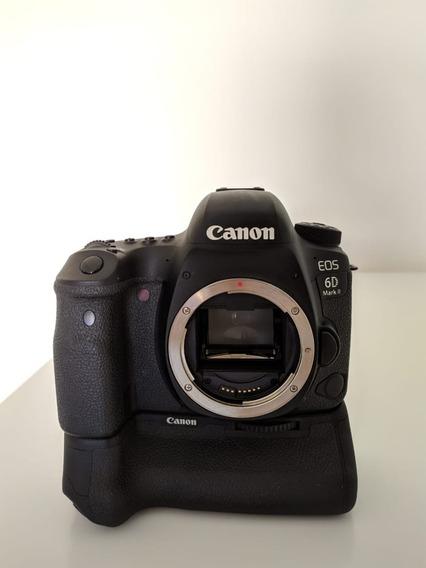 Canon 6d Mk2 (só Corpo) + Grip Original + Brindes - Usada