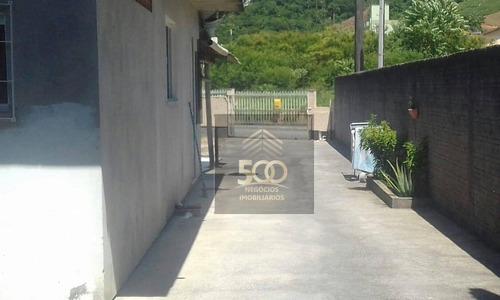 Casa Com 2 Dormitórios À Venda, 100 M² Por R$ 268.000,00 - Fundos - Biguaçu/sc - Ca0521