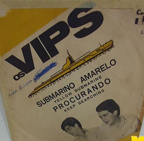 Os Vips 1966 Submarino Amarelo / Procurando Compacto