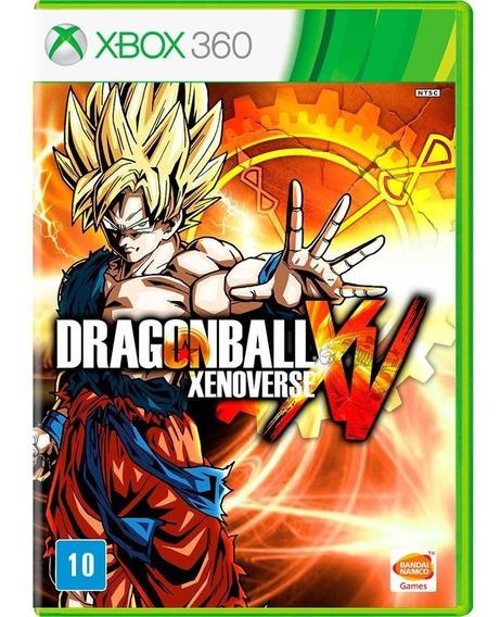 Dragon Ball Xenoverse Xv Português Mídia Física Xbox 360