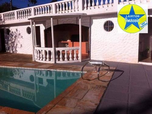 Chácara Com 3 Dormitórios À Venda, 2000 M² Por R$ 850 Mil - Chácaras Colinas - Atibaia/sp - Ch0438