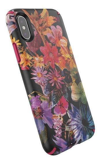 Funda Para iPhone X Xs Speck Presidio Inked Flores