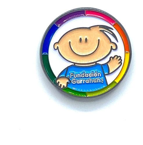 Pin Prendedor Magnético Fundación Garrahan - E
