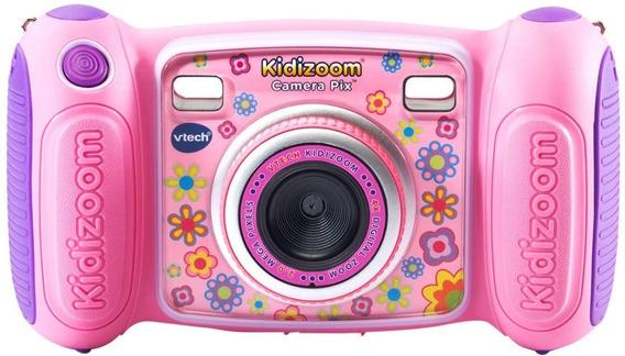 Camera Digital Pink Rosa Para Criancas Vtech Kidizoom